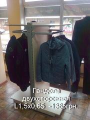Продам торговое оборудование б/у для магазина одежды