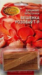 мицелий грибов на брусочках