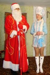 Дед Мороз и Снегурочка на дом,  девушка Снегурочка и ддушка Мороз