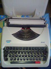 Орtima SM-40 Механическая пишущая машинка (Германия)