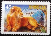 Почтовые марки Австралии - фауна