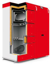 Твердотопливный котел Heiztechnik  Q Pellet  Duo – 25,  Житомир