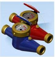 Счётчик водяной GROSS MTK(W)-UA 20 без сгонов (латунный),  Житомир