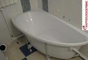Установка  ванны,  Житомир