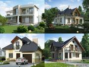 Проекты домов,  коттеджей,  дач,  реконструкция