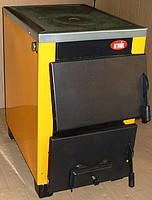 Твердотопливный котел с плитой  Огонек  КОТВ-16 П