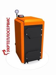 Твердотопливный пиролизный котёл КОТэко Unika 30 кВт в кредит
