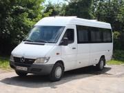 Заказ микроавтобуса (недорого) для пассажирских перевозок в Житомире