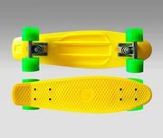 Скейт Penny Board  желтый