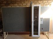 Пескоструйная камера для обработки стекла