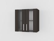 Шкафчик кухонний навісний зі склом