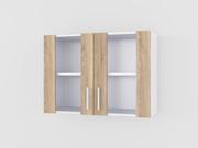 Шкафчик кухонний навісний зі склом 2