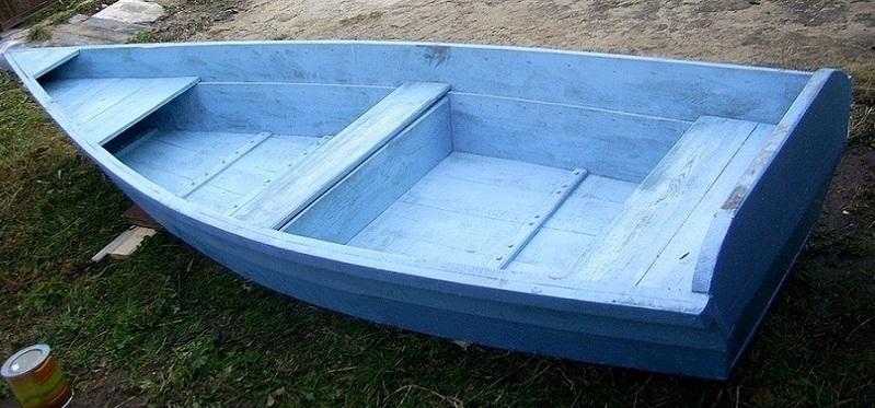 плоскодонные лодки из фанеры купить